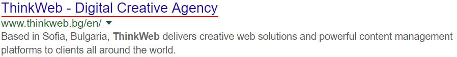 Google Meta Title